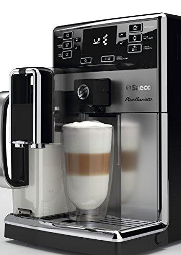 Saeco HD8927/01 PicoBaristo Kaffeevollautomat (1450 Watt, integriertes Milchsystem) edelstahl - 2