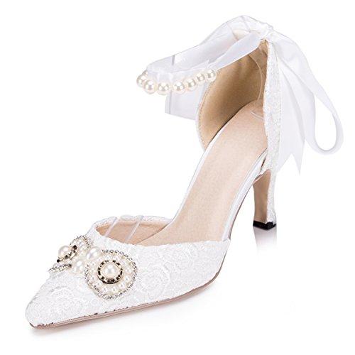 Kevin Fashion , Chaussures de mariage à la mode femme beige - Beige - marfil