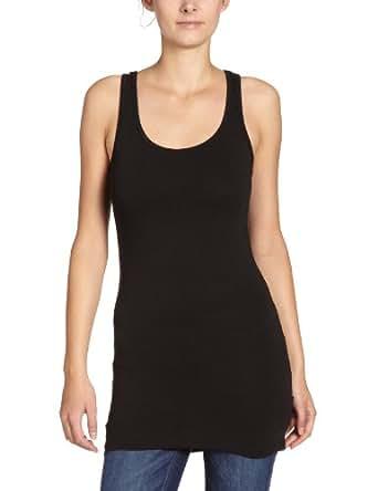 ONLY Damen Top Onllive Love Long Tank Top Noos, Größe:XS;Farbe:Black
