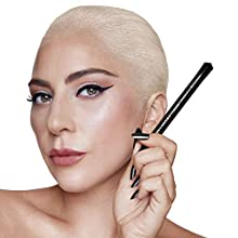 HAUS LABORATORIES By Lady Gaga: LIQUID EYE-LIE-NER | Flüssiger Eyeliner-Make-Up-Stift, Mattschwarz Und Braun, Langanhaltend Und Wischfest, Flexible, Präzise Spitze | .03 Fl. Oz