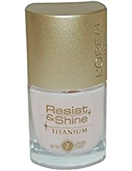L'Oreal Paris-Resist & Shine Titanium-Nagellack, Nr. 007 AMC471789, 9 ml
