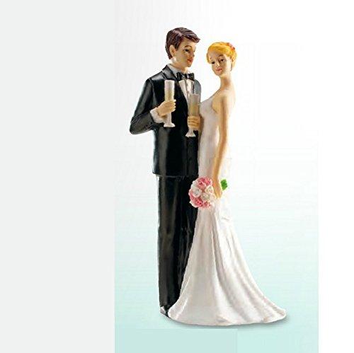 Cake topper resina - Un brindisi agli (Brindisi Sposa Sposo)