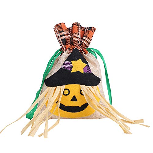 Halloween Party Urlaub Süßes oder Saures Goody Bag, tragbare Treat Eimer, Kinder Festival Candy Bag, behandeln Candy Geschenk Taschen für Party 3 Packs Party-Dekorationen, Party-Geschenk(3#)