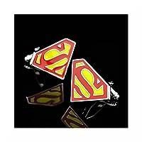 Super Hero Cufflinks (Superman)