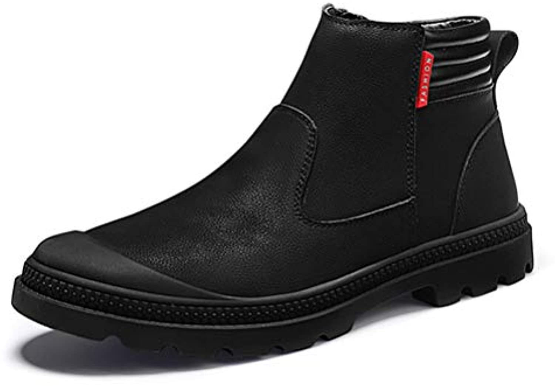 Mens High Top Leather scarpe Inghilterra Style Fashion Set di Scarpe da Uomo Antiscivolo Snow Plus Velluto Caldo...   Apparenza Estetica    Scolaro/Ragazze Scarpa