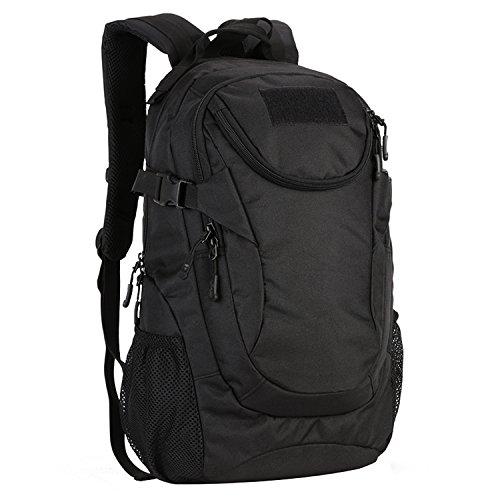 Matoger 20l Tactical Pack nylon caccia, borsa a spalla, zaino militare petto borsa, Brown Black