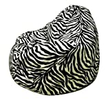 Altmark-Design Zebra XL Sitzsack Stuhl mit Futter
