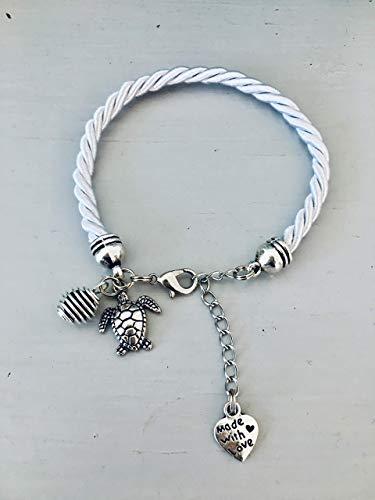 Armband Silber Schildkröte, Armband Silber Schildkröte Anhänger, Schmuck, Armband, Schmuck Schildkröte