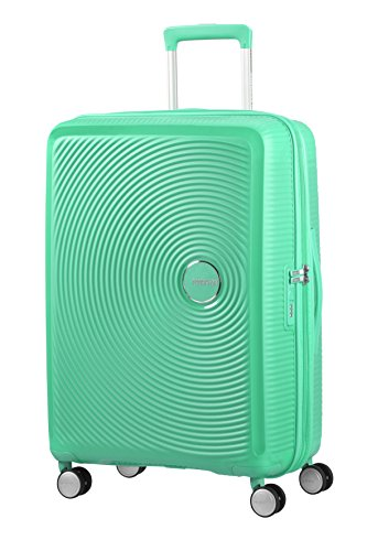 American Tourister - Soundbox Spinner Extensible, 67cm, 71,5/81 L - 3,7 KG, Vert (Deep Mint)