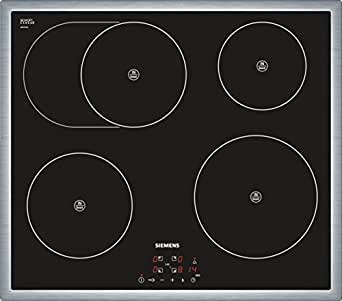 siemens eh645bb17e iq300 kochfeld elektro 58 3 cm schwarz touchcontrol bedienung countdown. Black Bedroom Furniture Sets. Home Design Ideas