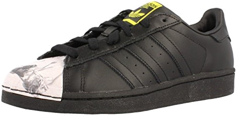 Adidas Originals Superstar Pharrell Supershell Mens degli degli degli Addestratori delle Scarpe da Tennis (UK 4, Nero (Nero... | Promozioni  | Gentiluomo/Signora Scarpa  4e32ca