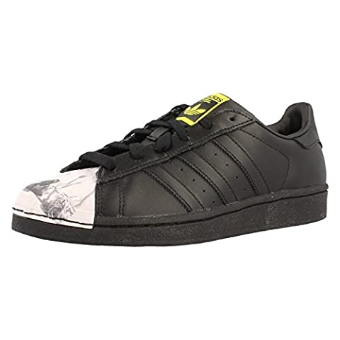 Adidas Originals Superstar Pharrell Williams Damen Sneaker, Schuhgröße:EUR 37 1/3;Farbe:schwarz