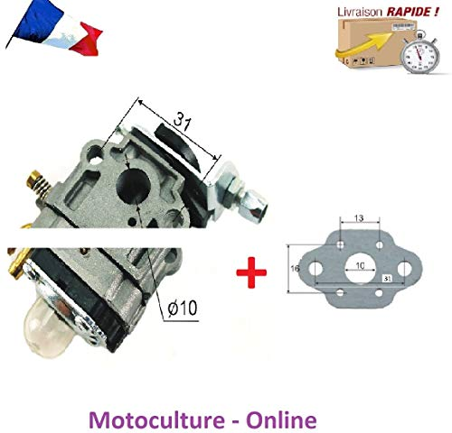 Motoculture-Online Carburateur + Joint pour Taille haie Thermique