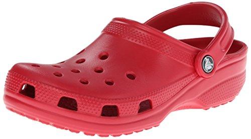 Crocs Classic, Unisex - Erwachsene Clogs, Rot (Pepper), 48-49 EU (Crocs 13)