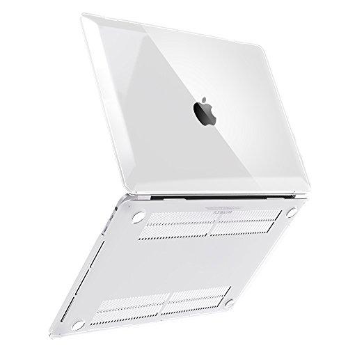 iBenzer–tacto suave carcasa rígida de plástico para todos los tamaño de MacBooks/MacBook Air 13.3