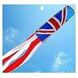 United Kingdom Windsock. Caravan And Motorhome Use. For Telescopic Flag Poles