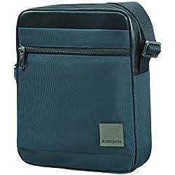 "SAMSONITE Hip-Square - Tablet Cross-Over M 7.9"" Bolso Bandolera, 25 cm, 3.5 Liters, Azul (Dark Blue)"
