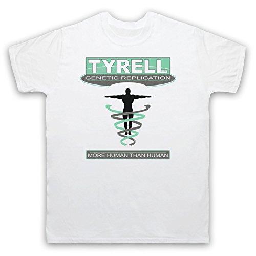 Inspiriert durch Blade Runner Tyrell Corp Unofficial Herren T-Shirt Weis