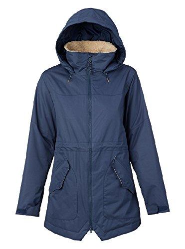 Burton Damen Prowess Jacket Snowboardjacke, Mood Indigo, S