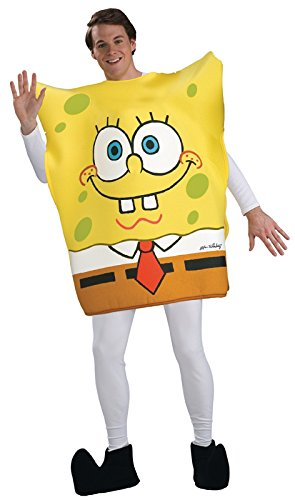 Preisvergleich Produktbild Rubie's Spongebob Schwammkopf Kostüm, für Erwachsene, Einheitsgröße
