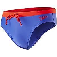 Speedo Contrast 7c, Slip da Baño para Hombre, Azul (Ultramarine/Lobster), 34
