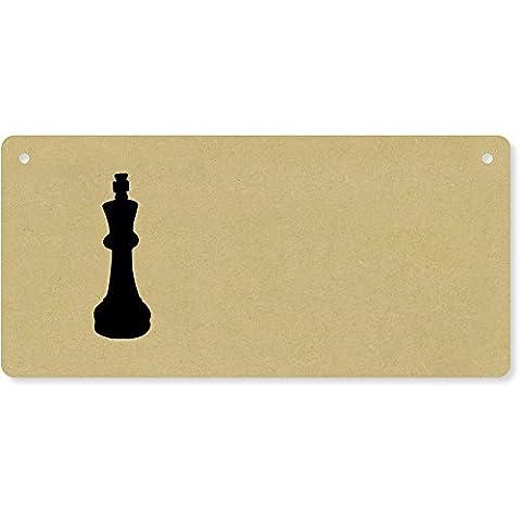 'King Chess Piece' Wooden Wall Plaque / Door Sign (DP00029635)