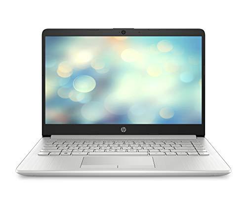 HP 14-dk0001ng (14 Zoll / FHD IPS) Laptop (AMD A9-9425, 4 GB DDR4 RAM, 256 GB SSD, AMD Radeon R5, Windows 10 Home) silber