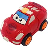 Sita Ram Retails- New Model Transfomer Unbreakble Robot Car With Friction Powered Car For Kids (Multi Color)
