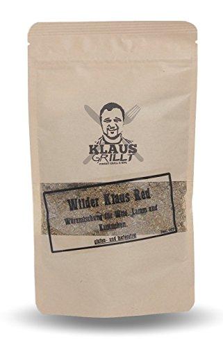 """Wilder Klaus """"red""""...Würzmischung für Rotwild von Klaus grillt."""