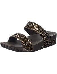 Fitflop Glitterball Slide - Sandalias con Tacón Mujer