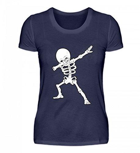 Hochwertiges Damenshirt - Dabbing Skelett Hip-Hop Dab Tanzendes Gerippe Tanz Geschenk