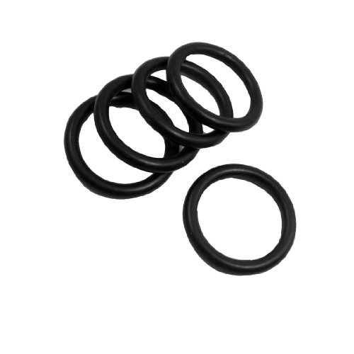 5Stück 40mm x 5mm Gummidichtung Ölfilter O-Ringe Dichtungen Schwarz