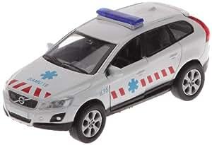 Majorette - 213315379002 -  Véhicule Miniature - Majoteams Volvo SOS - Samu 19 - Blanc