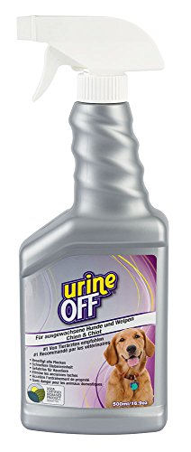 Kerbl 81964 Urine Off Spray Hund 500 ml Geruchs- und Fleckenentferner -