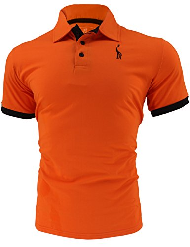 new product f58d3 c587c Glestore Herren Poloshirt Kurzarm Baumwolle M-XXL MT1030