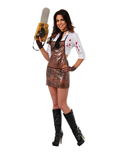 Horror-Shop Original Miss Leatherface Damenkostüm M