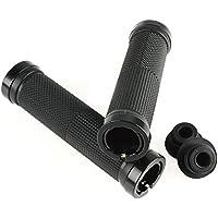 FASTPED® Pair Cycling Lock-on Anti-Slip Bicycle Handlebar Handle Grips for MTB BMX Black
