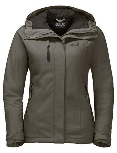 Jack Wolfskin Troposphere Women, sehr warme Winterjacke für Damen, wasser- & winddichte Outdoor Jacke für Damen, Windbreaker für Damen mit Belüftungsreißverschlüssen