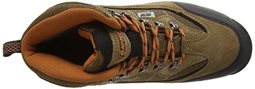 Hi-tec Keswick Waterproof, Herren Trekking- & Wanderschuhe Braun (smokey Br/burnt Orange 041)