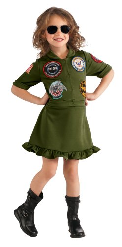 Mädchen (Mädchen Top Gun Kostüme)