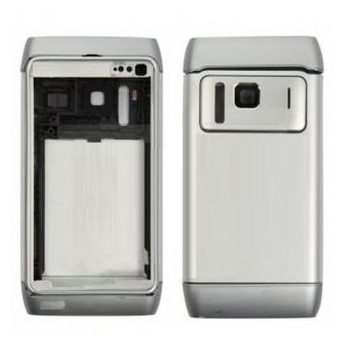 Movilconsolas Carcasa Completa Nokia N8 Plata