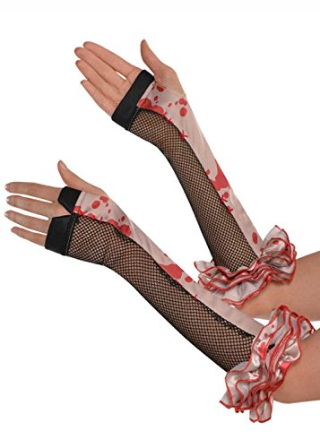 Clown Handschuhe (Lady Killer Kostüm)