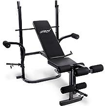 banc de musculation mub3003p noir