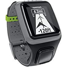 TomTom Multi-Sport GPS Watch – Grigio scuro (Ricondizionato (Fitness Trainer Heart Rate Monitor)