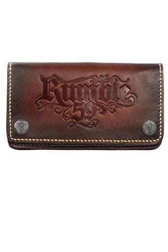 Rumble59 - Leder Wallet 'sunburst' handmade