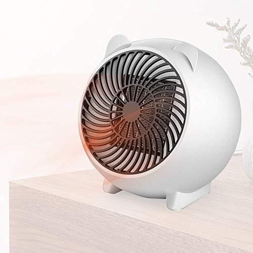 GKPLY Mini Calentador Eléctrico De Invierno, Calentador De Espacio Personal, Calentador De Dibujos Animados - Lindo Calentador De Ventilador Eléctrico De Bajo Ruido Adecuado para Oficina Familiar