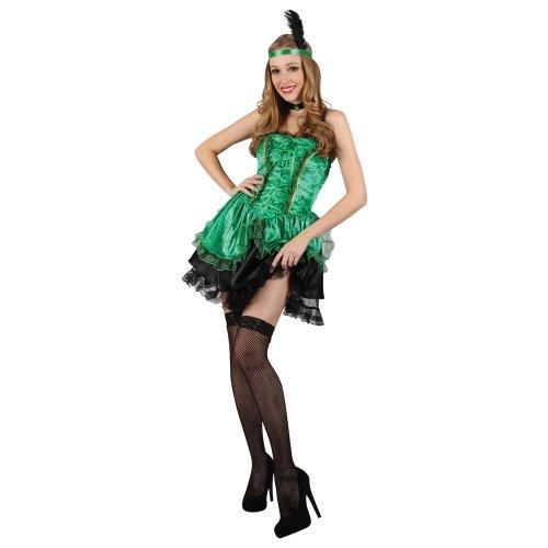 Preisvergleich Produktbild Sexy Damen, Wild West Saloon Girl Kostüm Halloween Fasching Tänzerin-XS