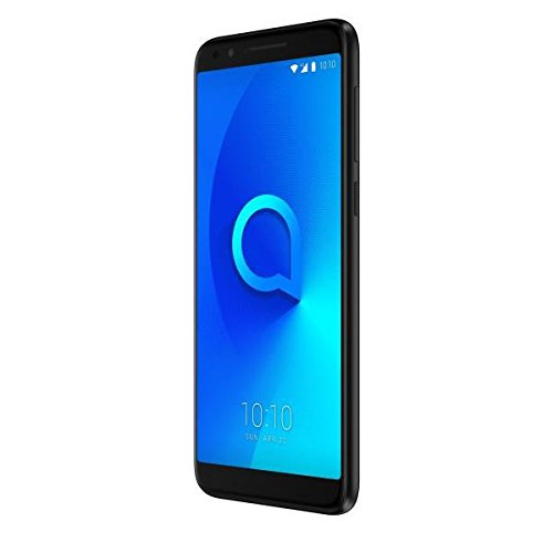 "Alcatel 3L - Smartphone de 5.5"" (memoria interna de 16 GB, RAM de 2 GB, Display TFT HD+ 18:9, cámara de 16 MP, Android 8.0 (Oreo)), color negro metalizado"