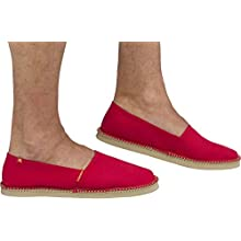 Cressi Valencia - Espadrilles with Rubber Sole Red