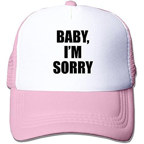 long5zg Unisex ajustable bebé I 'm Sorry gorra Trucker gorro/gorro de invierno Negro